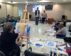 Art Workshops with Stephen Linsteadt